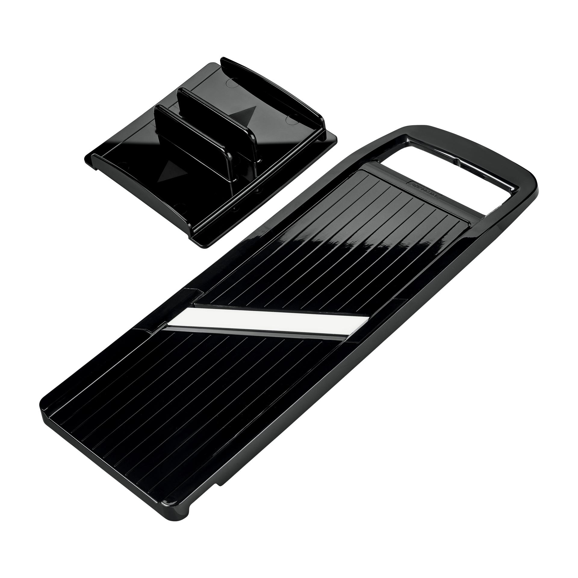 Picture of Wide Adjustable Mandoline Slicer - Black
