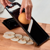 Picture of Wide Adjustable Mandoline Slicer - Black