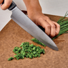 "Picture of Innovation Soft Grip 7"" Ceramic Chef's Knife - Black Patented Blade"