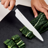 "Picture of Innovation Soft Grip 7"" Ceramic Chef's Knife - White Z206 Blade"