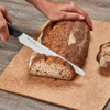"Picture of Revolution Ceramic 7"" Serrated Bread and Slicing Knife - White"