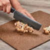 "Picture of Revolution Ceramic 6"" Nakiri Vegetable Cleaver - Black"