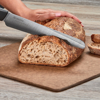 "Picture of Revolution Ceramic 7"" Serrated Bread/Slicing Knife - Black"