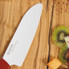 "Picture of Revolution 2 Piece Ceramic Knife Set - Red/White 5.5"" Santoku and 4.5"" Utility"