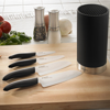 Picture of 5 Piece Black Universal Knife Block Set