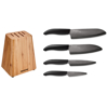 Picture of Bamboo 5 Piece Knife Block Sets