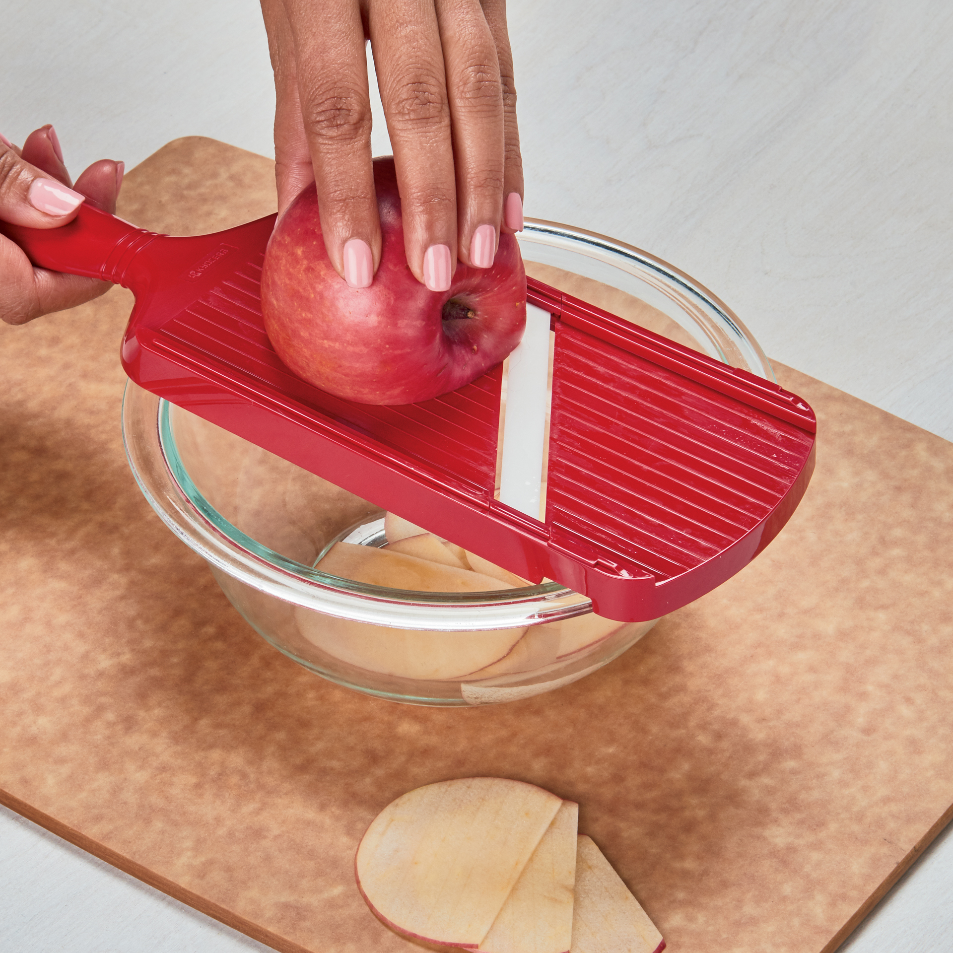 Picture of Double-edge Ceramic Mandoline Slicer