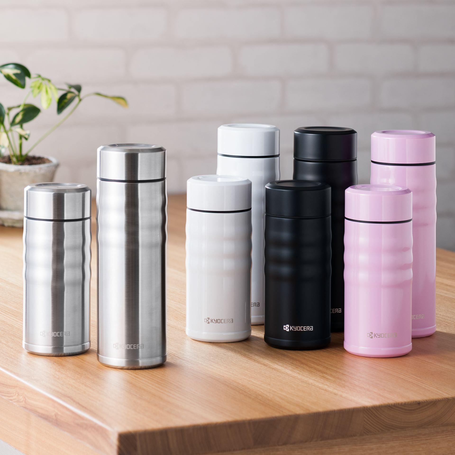 Picture of Twist Top Ceramic Insulated Travel Mug